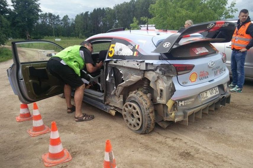 Rally Poland, Thierry Neuville SS16