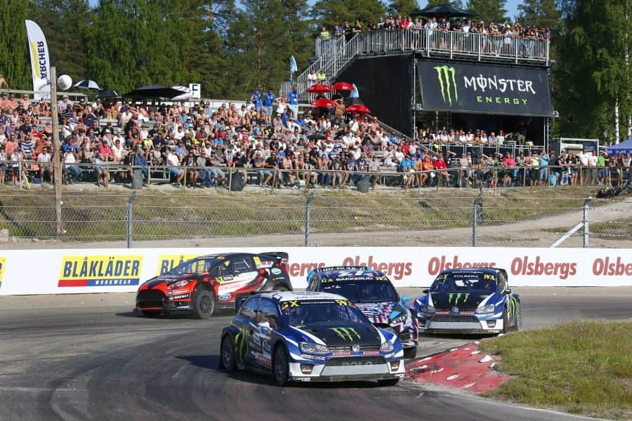 Johan Kristoffersson wins World RX Sweden