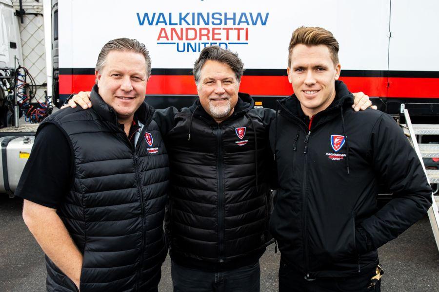 Zak Brown, Michael Andretti, Ryan Walkinshaw