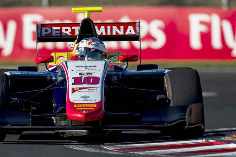 Giuliano Alesi 2017 GP3 Series