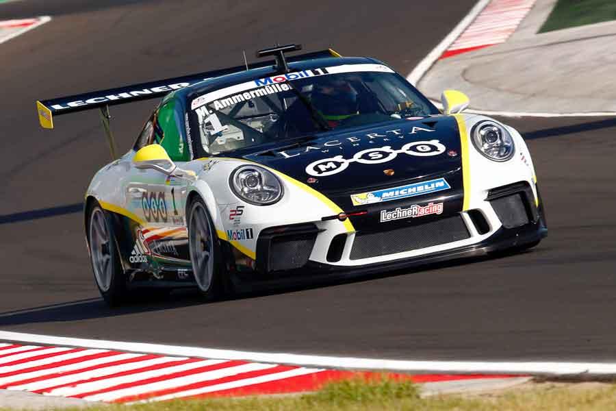 Michael Ammermuller, 2017 Porsche Supercup at Hungaroring