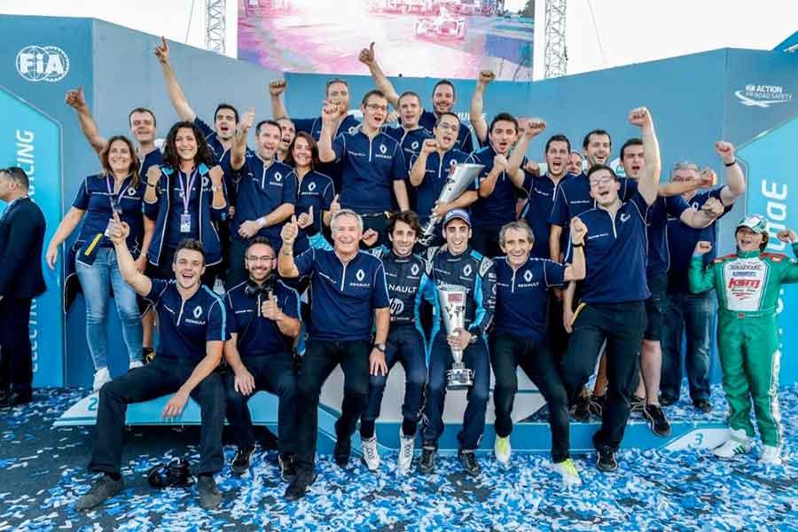 Renault e.Dams champions