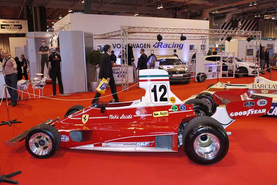 Ferrari 312T expo