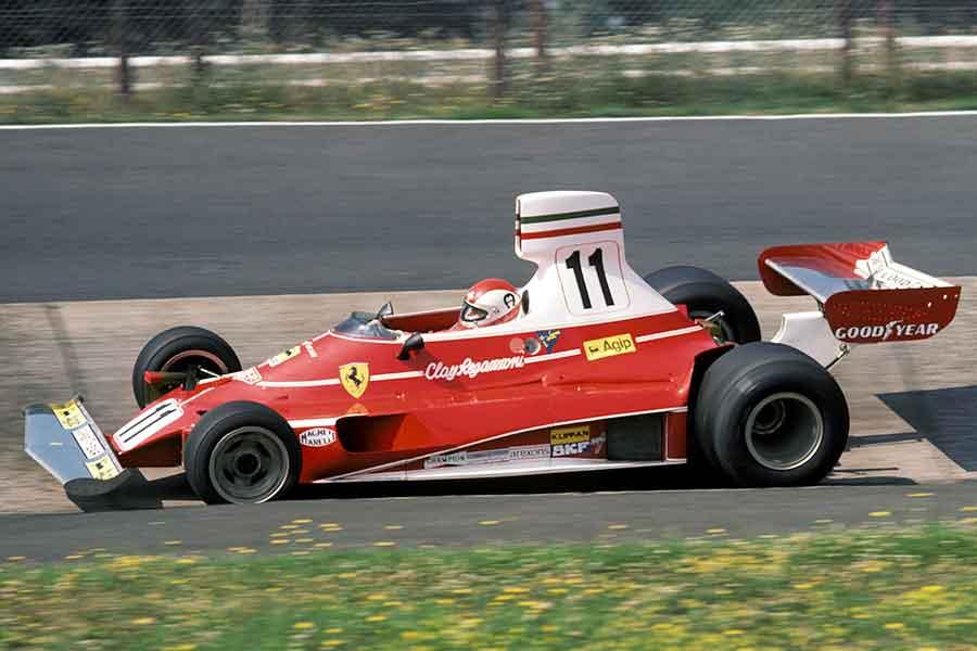 Clay Regazzoni in Ferrari 312T racing