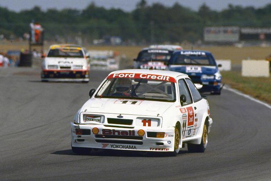 Robb Gravett's Sierra RS500 in 1990