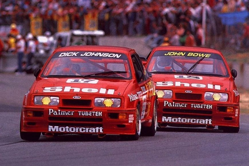 Dick Johnson captured two ATCC titles with Ford Sierra RS500