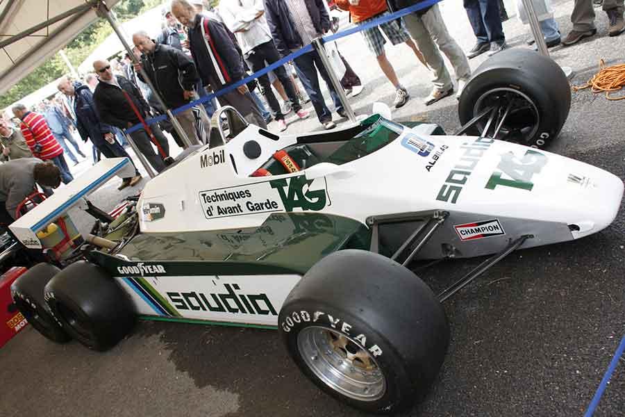 Williams FW07 cars formula racing