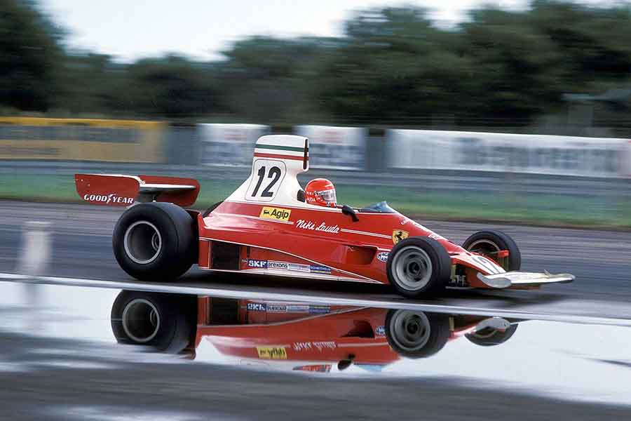 Ferrari 312T formula 1975