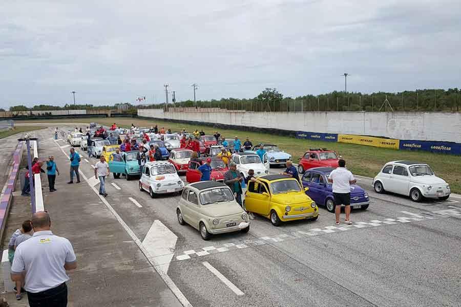 Autodromo Levante gara 1°
