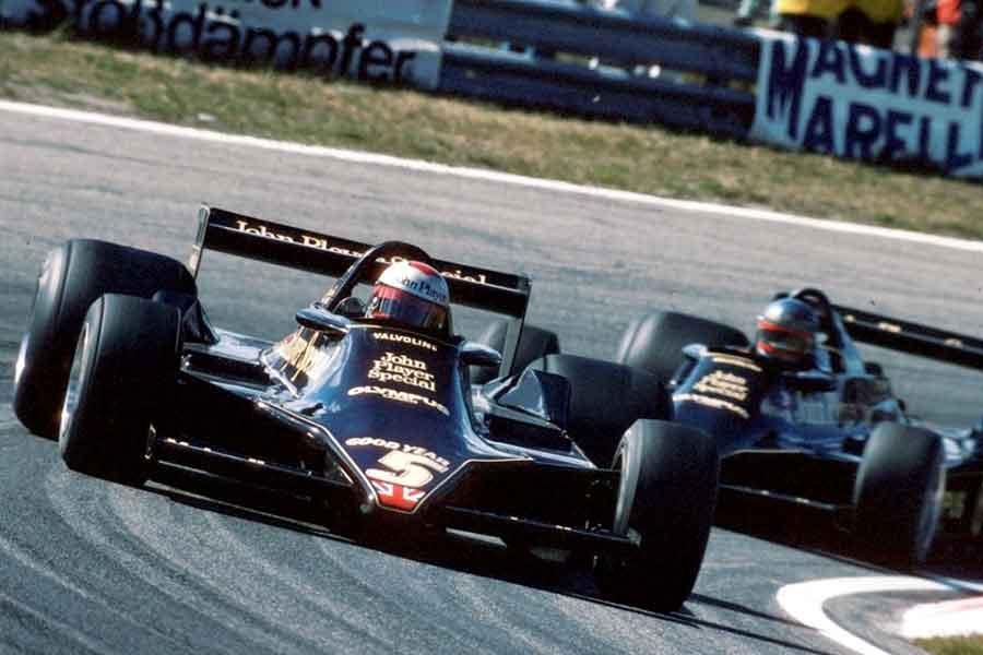 Lotus 79 formula 1978 Mario Andretti