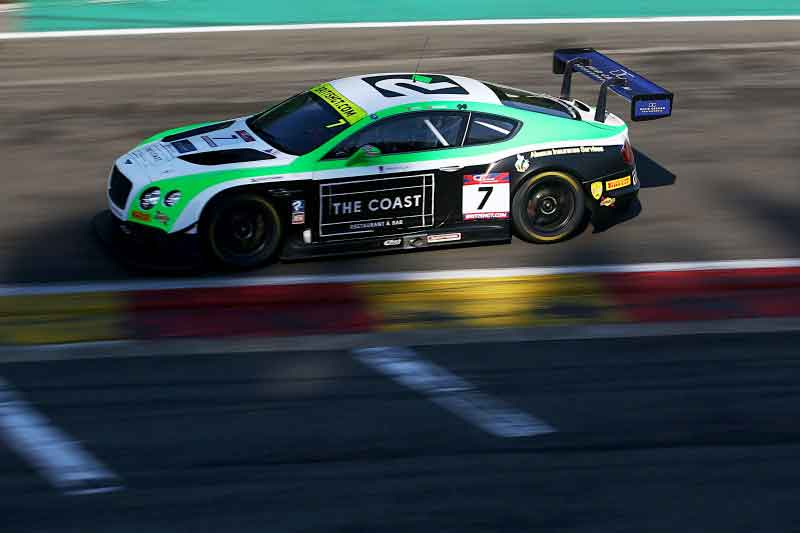 Team parker Racing 2017 British GT