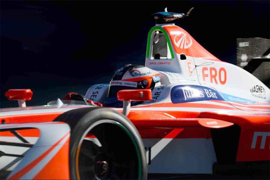 Felix Rosenqvist Mahindra Racing
