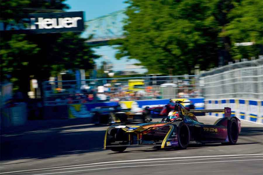 Jean-Eric Vergne scored his maiden Formula E victory in Montreal