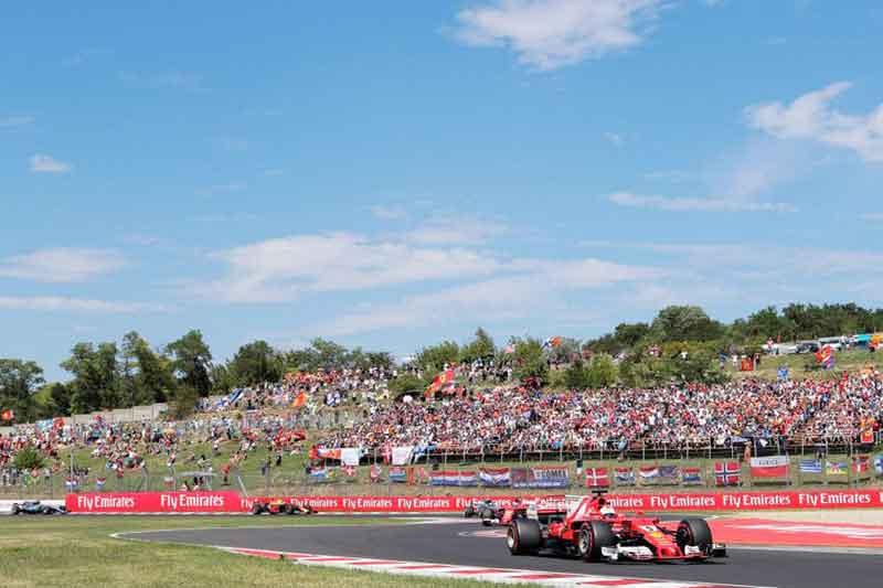 Sebastian Vettel 2017 Hungarian Grand Prix