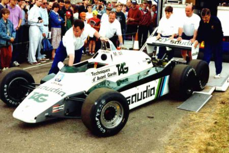 Williams FW07 1979 contact formula cars 2017 wheeled drivers speed race grand prix season