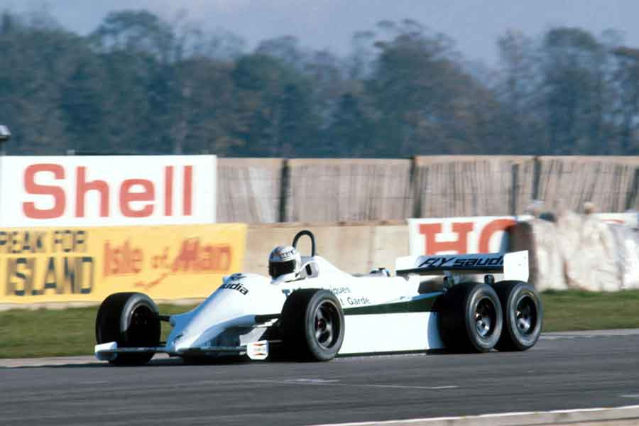 Williams FW07 formula grand prix season cars tyrrell wheeler
