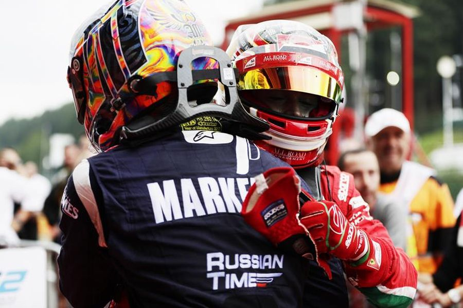 Artem Markelov, Formula 2, Spa