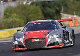 #5 Audi R8 LMS, Blancpain Sprint Hungaroring