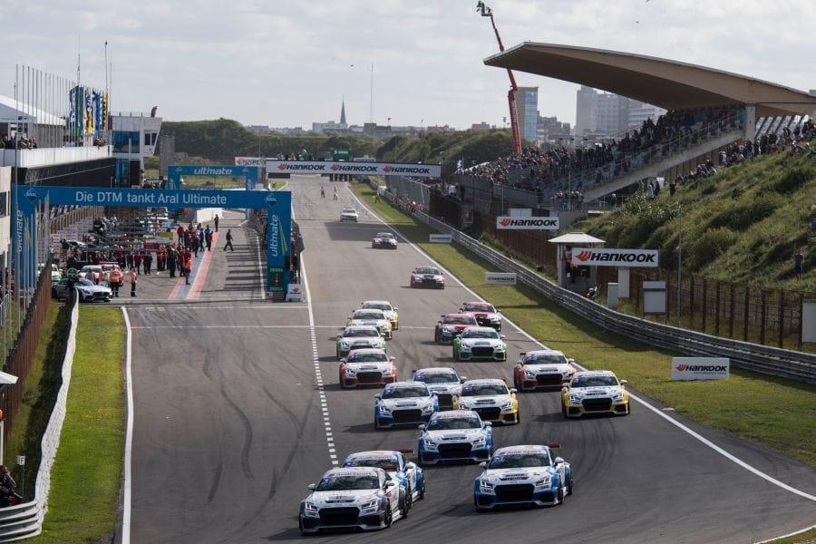 Audi Sport TT Cup at Zandvort