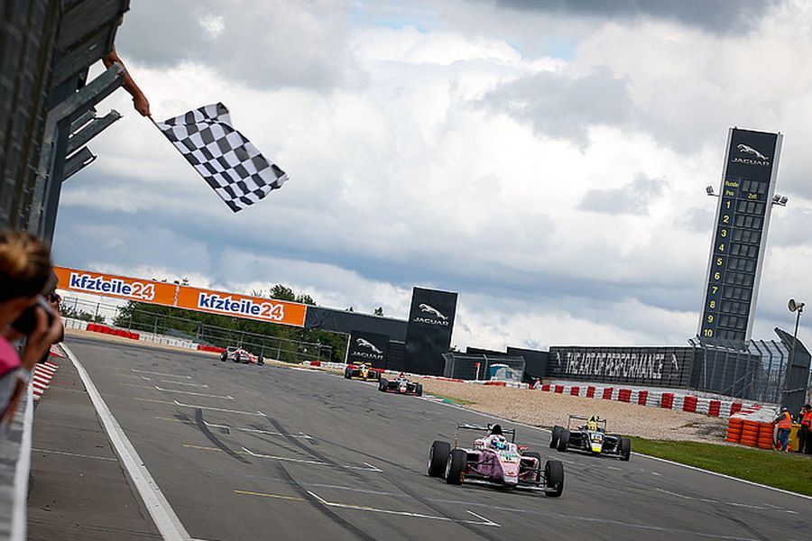 ADAC F4, Nurburgring, race 1, Lirim Zendeli wins