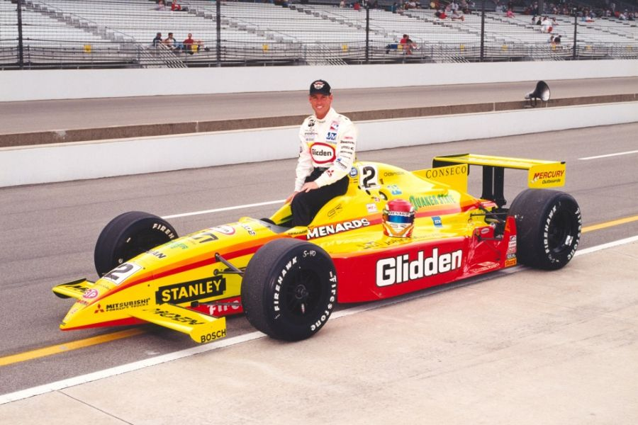 Greg Ray's championship winning #2 Dallara-Oldsmobile