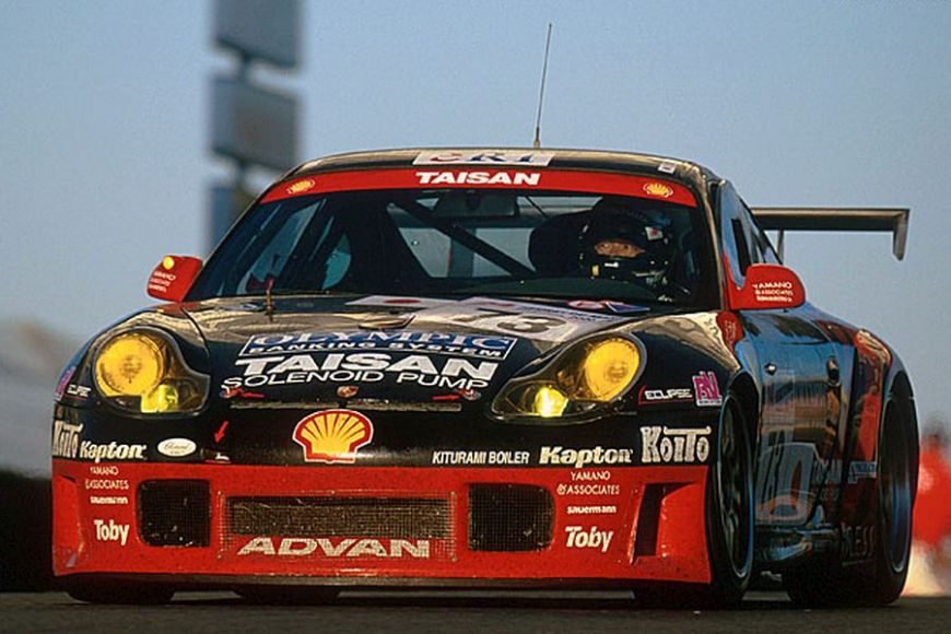 Hideo Fukuyama's Le Mans-winning Porsche, 2000
