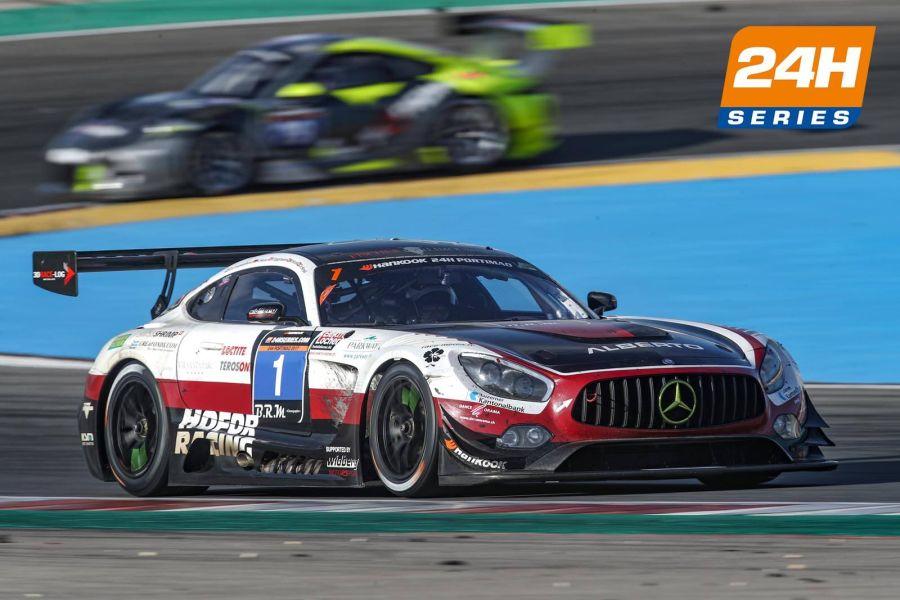 Hofor-Racing's #1 Mercedes-AMG GT3