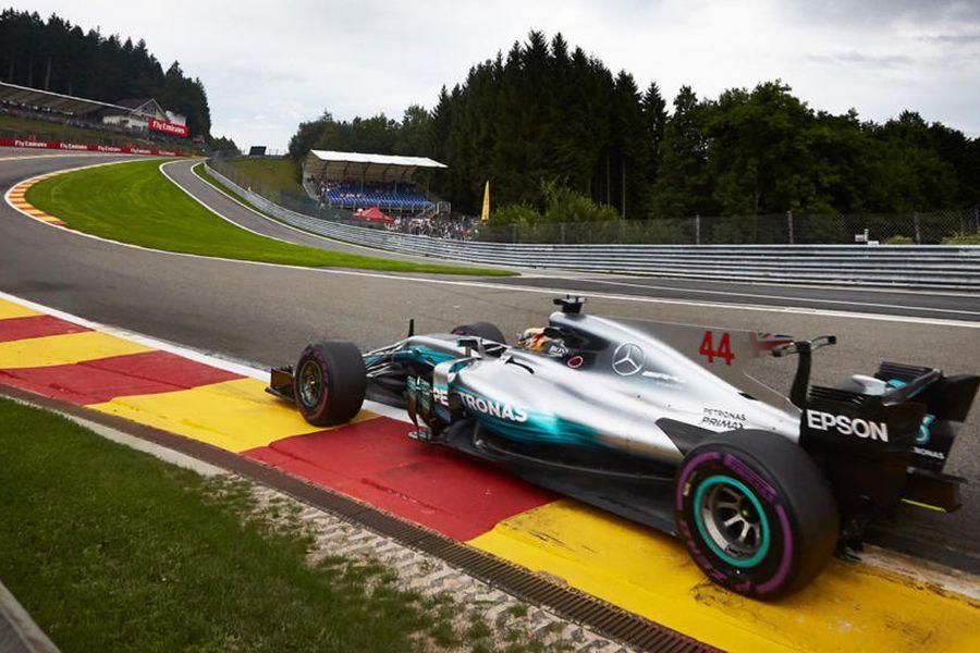 Lewis Hamilton, 2017 Belgian Grand Prix, Spa-Francorchamps