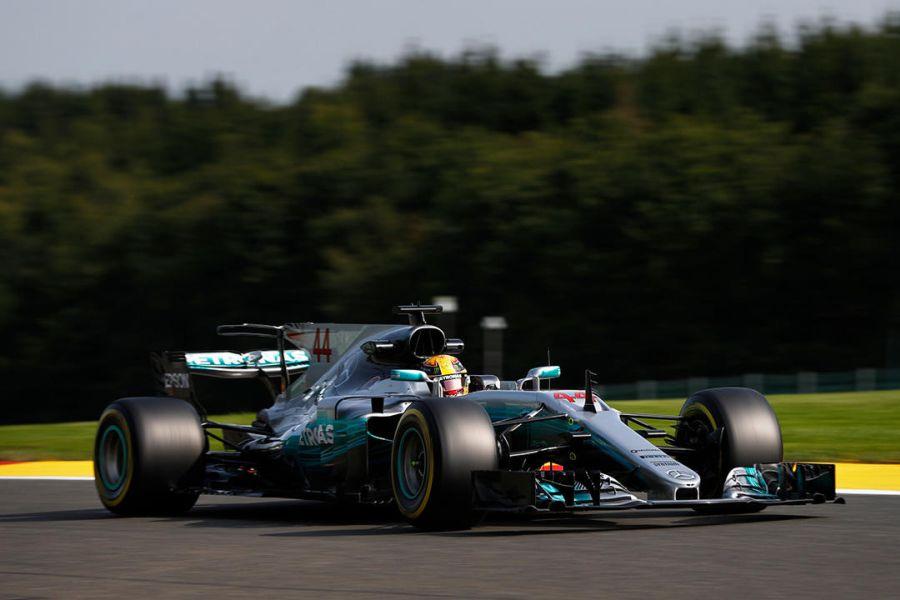 Lewis Hamilton, Spa