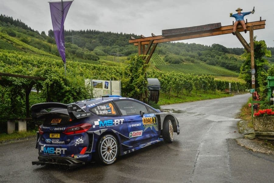 Ott Tanak wins ADAC Rallye Deutschland