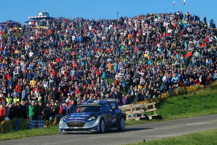 Ott Tanak wins 2017 ADAC Rallye Deutschland