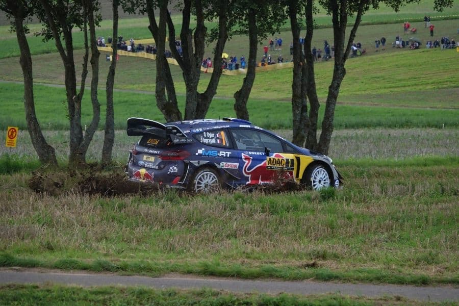 Seb Ogier, ADAC Rallye Deutschland