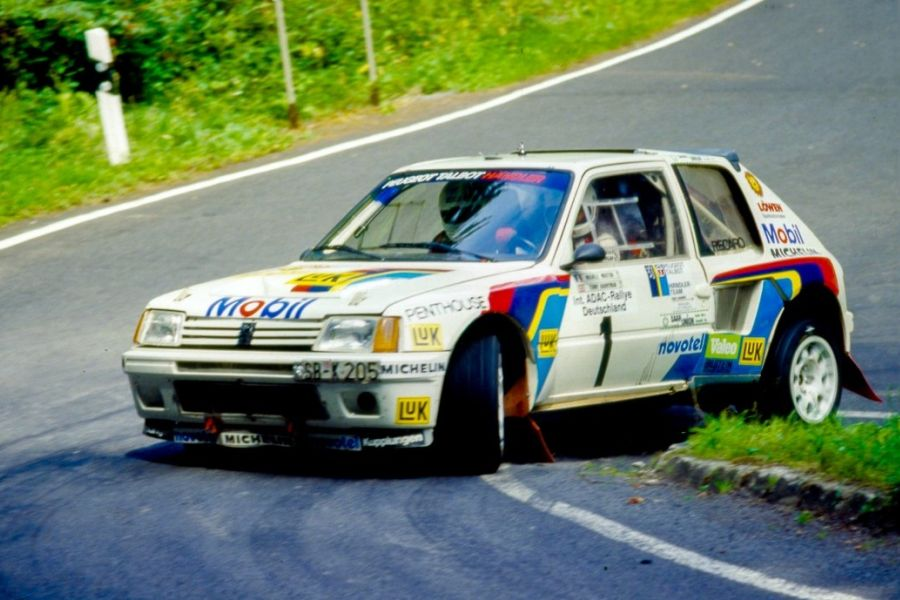 In 1986, Michele Mouton was the winner with Peugeot 205 Turbo 16
