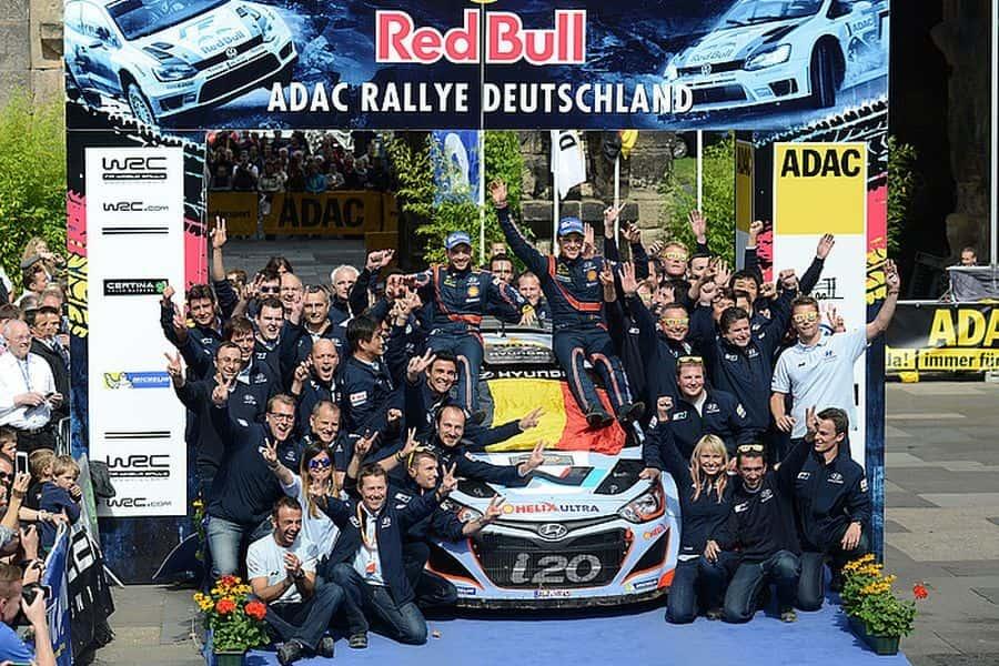 2014 ADAC Rallye Deutchland - maiden win for Thierry Neuville and Hyundai
