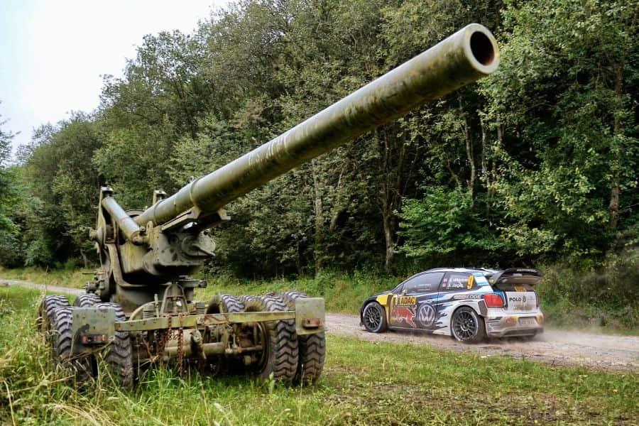 ADAC Rallye Deutschland, Panzerplatte