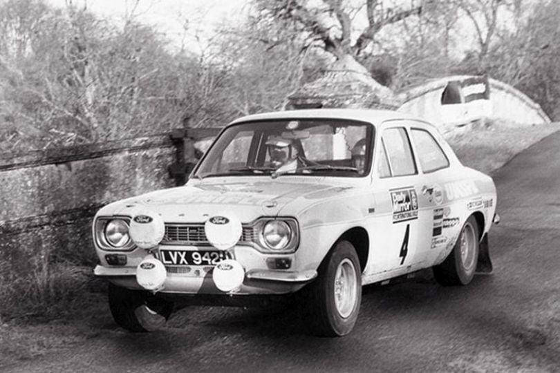 Roger Clark at 1972 RAC Rally