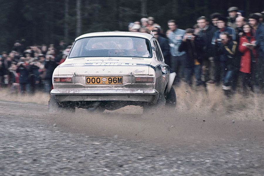 Roger Clark - Sideways to Victory, 1973 RAC Rally