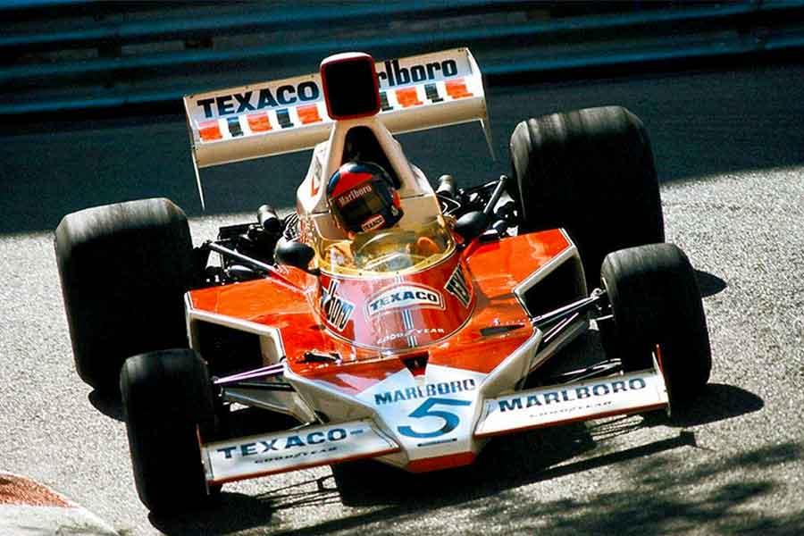 McLaren M23 Emerson Fittipaldi 1974