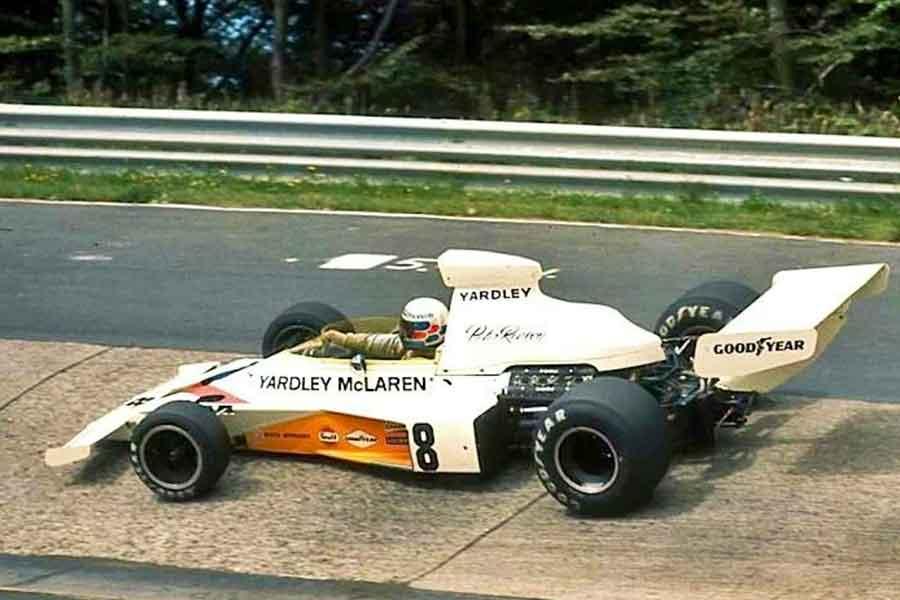 McLaren M23 formula Ford Cosworth 1973