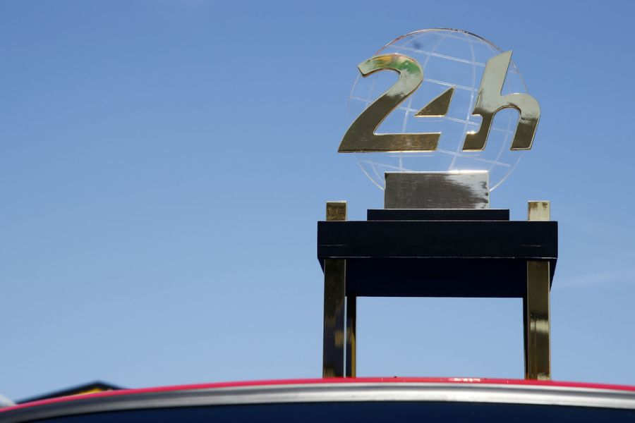 24 hours of Le Mans trophy