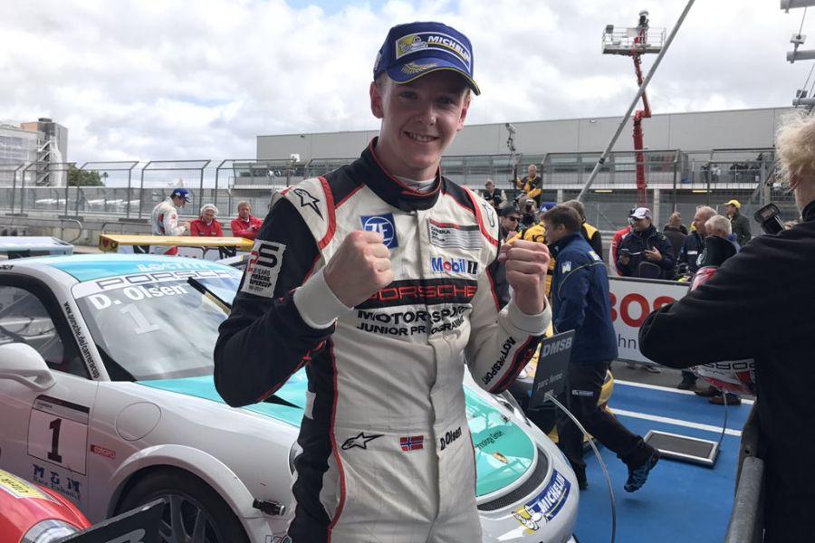 Dennis Olsen wins race 2 at Nurburgring
