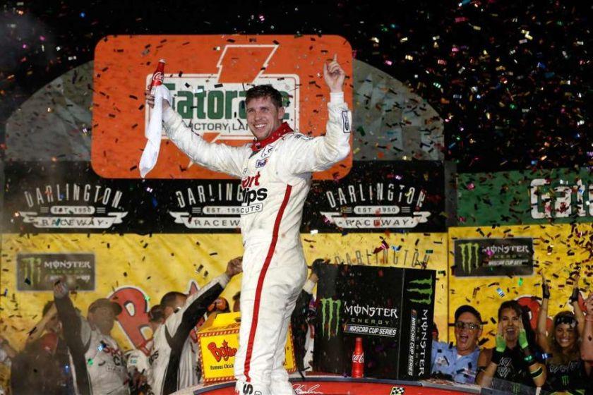 Denny Hamlin wins Southern 500