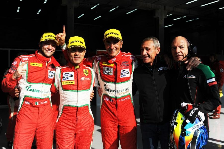 GTE class winners at Spa