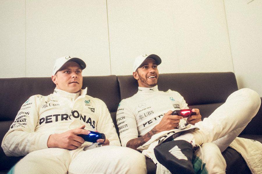 Valtteri Bottas, Lewis Hamilton, Monza