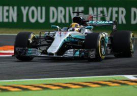 Lewis Hamilton, pole position 2017 Italian Grand Prix