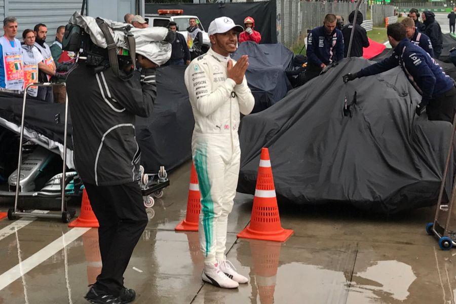 Lewis Hamilton wins pole position for 2017 Italian Grand Prix