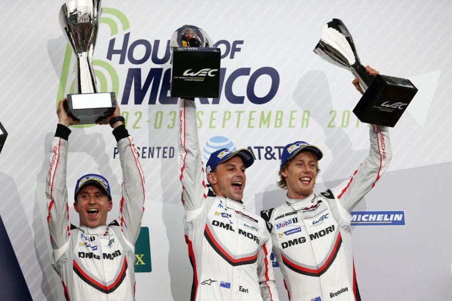 ¸FIA WEC, 6 hours of Mexico winners Bernhard, Bamber, Hartley