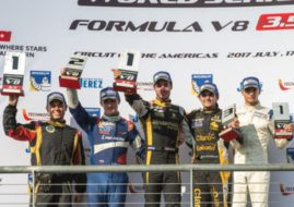 Formula V8 3.5, Circuit of the Americas, race 1 podium