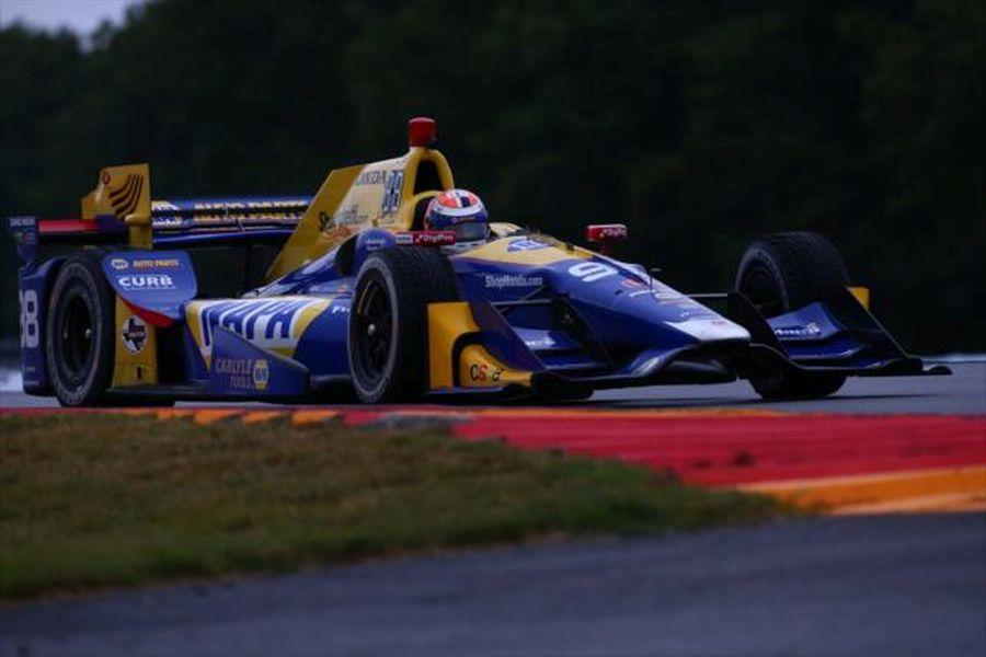 Alexander Rossi wins at The Glen