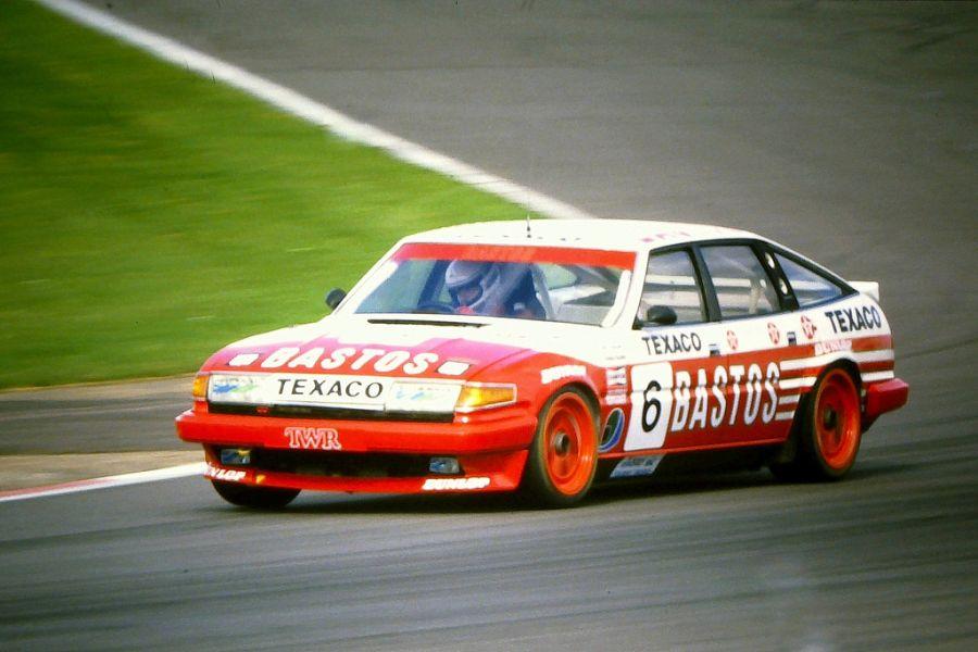 In 1985, Allam was driving Bastos Texaco Rover Vitesse
